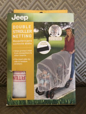 Double stroller netting. for Sale in Brooklyn, NY