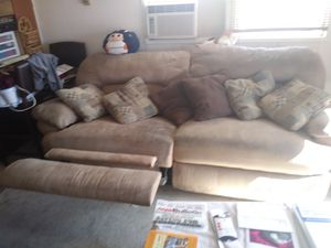 Microfiber couch for Sale in Mesa, AZ
