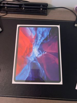 Apple 12.9 inch iPad Pro (2020) Wi-Fi & Cellular 128 GB - Silver for Sale in St. Petersburg, FL