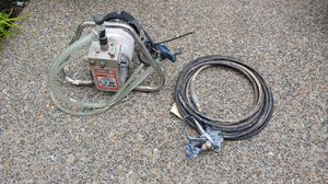 Airless paint sprayer half-horse 3 3 gallons per minute perfect condition for Sale in Beaverton, OR