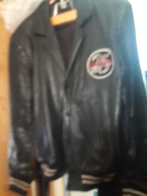 Leather leathermans jacket for Sale in Rosamond, CA
