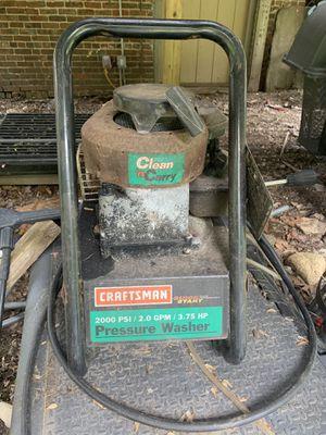 Craftsman pressure washer for Sale in Abington, MA