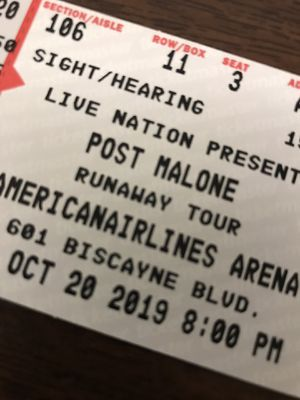 Post Malone Concert Tickets for Sale in Delray Beach, FL