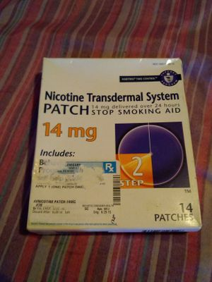 Nicotine transdermal system parch for Sale in Philadelphia, PA