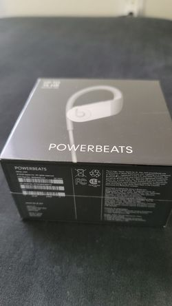 Powerbeats white for Sale in Kissimmee,  FL