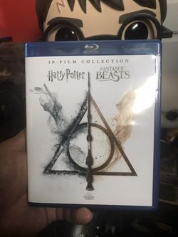 Harry Potter and Fantastic Beasts movies in Blu-ray 1-10, Disney Marvel DC Harry Potter the Star Wars movies 3D Bluray and dvd collectors !stay safe! for Sale in Everett,  WA
