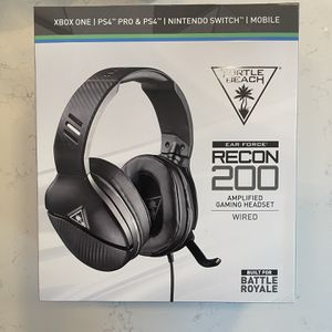 Turtle Beach Recon 200 Amplified Gaming Headset for Sale in Chicago, IL