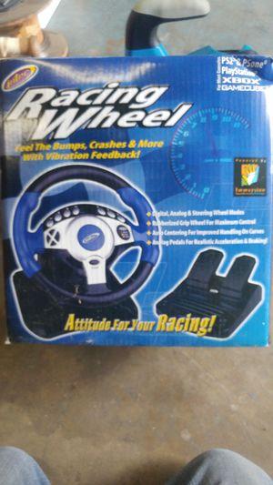 Racing Wheel Xbox, PS2, PlayStation for Sale in Auburn, WA