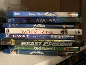 Blue ray movies for Sale in West Covina, CA