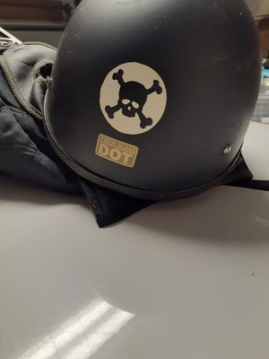 Black Motor cycle helmet for Sale in Littleton, CO