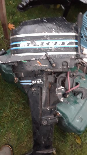 $PRICE DROP$ 9.8 hp outboard mercury motor. for Sale in Portland, OR