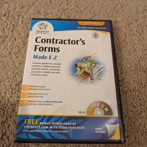 Socrates Contractor's Forms - Made E-Z for Sale in Wheaton, IL