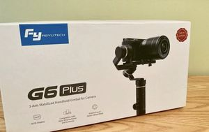 FeiyuTech G6 Plus 3-Axis Stabilized Handheld Gimbal for Sale in Los Angeles, CA