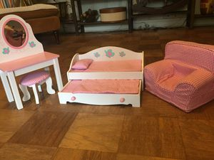 American girl doll furniture set for Sale in Winter Haven, FL