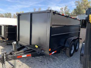 2019 Dump Trailer HD 14x4x9 for Sale in Temecula, CA
