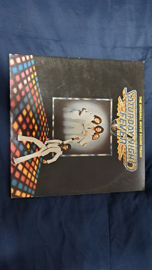 Saturday Night Fever Bee Gees Soundtrack Original Vinyl Record 1977. for Sale in Frisco, TX