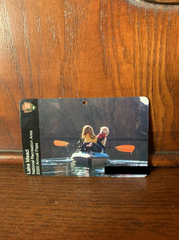 Two never used Lake Mead 2020 Annual Pass