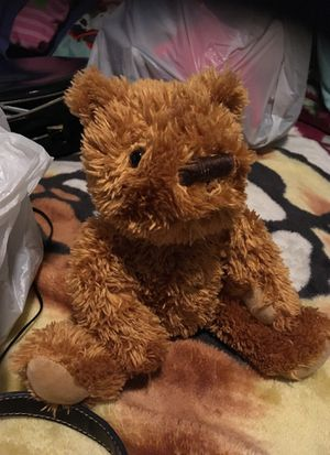 Stuffed plush brown beanbag bear $1.00 for Sale in Menifee, CA