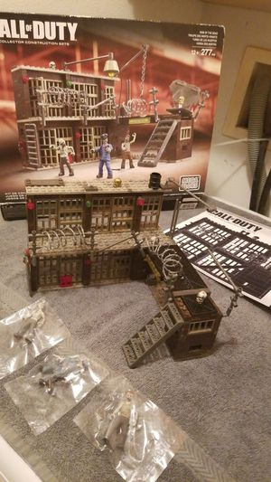 Mega blocks Call of Duty collector construction sets, 3 possible figures sealed for Sale in Riverside, CA