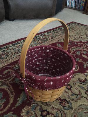 Longaberger Basket for Sale in Murrieta, CA