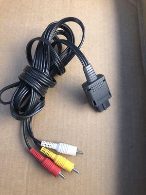 Nintendo AV Cable For NES GAMECUBE SNES for Sale in San Jose, CA