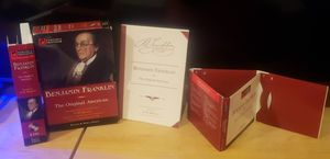 Benjamin Franklin The Original American HW Brands Portable Professor 08 CDs for Sale in Garden Grove, CA