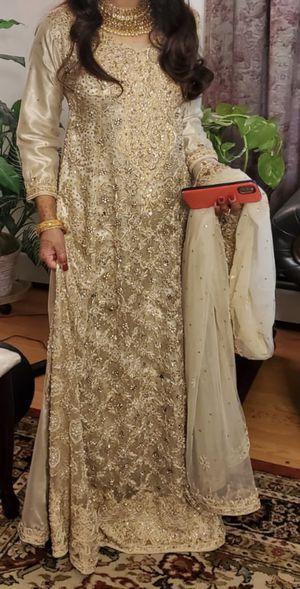 Pakistani Bridal Nikah Dress for Sale in Fairfax, VA