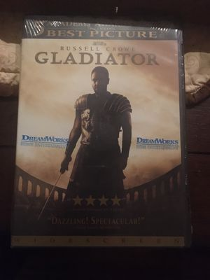 Gladiator - Russell Crowe - DVD Movie for Sale in Harrodsburg, KY
