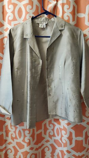 Sliver jacket or cover up for Sale in Bakersfield, CA