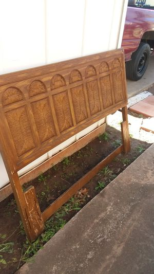 Free Headboard for full-size bed. for Sale in Wichita Falls, TX