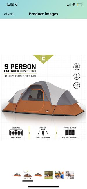 Camping tent for 9 persons !! for Sale in Miami, FL