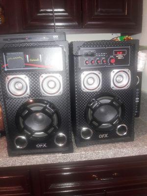 Karaoke machine 2 microphones for Sale in East Los Angeles, CA