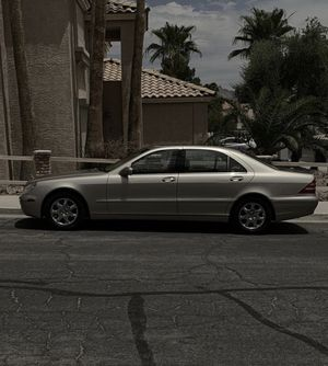 Mercedes Benz S500 for Sale in Henderson, NV