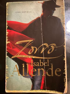 Zorro by Isabel Allende (Spanish) for Sale in Miami, FL