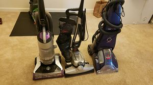 2 vacuum cleaners and 1 steam cleaner for Sale in Midlothian, VA