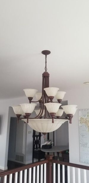 Large chandelier / multi light fixture for Sale in Hermosa Beach, CA
