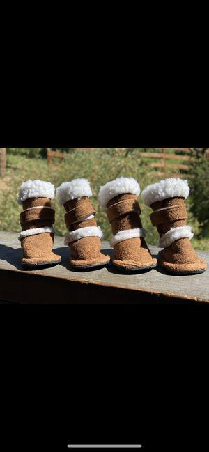 Small doggie boots/ rain winter for Sale in Smyrna, GA