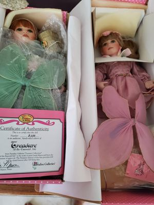 2 new porcelain fairy dolls $20. Each for Sale in West Palm Beach, FL