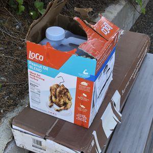 Peanut oil from Thanksgiving Turkey for Sale in El Cajon, CA