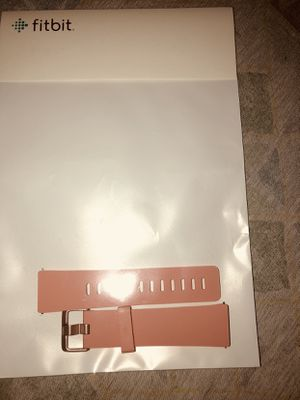 "Fitbit Versa Accessory ""Peach"" Band **BRAND NEW** Size Small for Sale in Smyrna, GA"