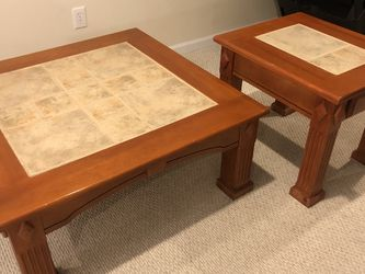 Coffee Table And End Table for Sale in Silver Spring,  MD