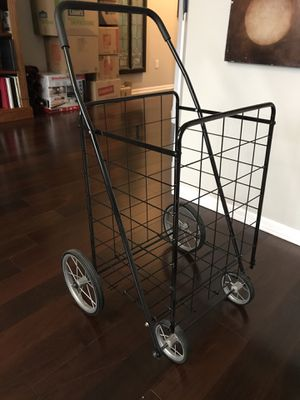 Collapsible grocery cart for Sale in Columbus, OH