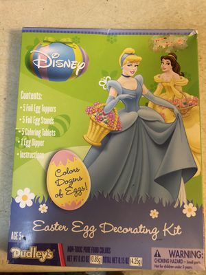 Brand New Disney Store Princess Egg Decorating Kit - pickup in Aiea - I DON'T DELIVER for Sale in Aiea, HI