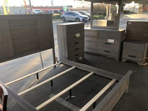 5pc Queen Size Bedroom Set- Recamara Queen 5pc @Elegant Furniture 🇺🇸President Day Sale for Sale in Fresno, CA