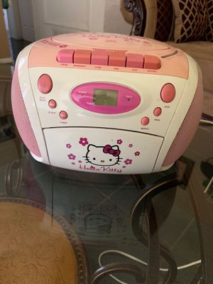 Hello kitty radio/cd player/ cassette for Sale in Phoenix, AZ