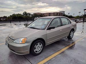 2002 Honda Civic LX for Sale in Houston, TX
