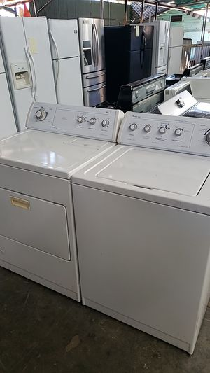 WHIRLPOOL Washer amd gas dryer set for Sale in Fontana, CA