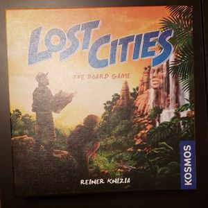 Lost Cities board game for Sale in Saint Petersburg, FL