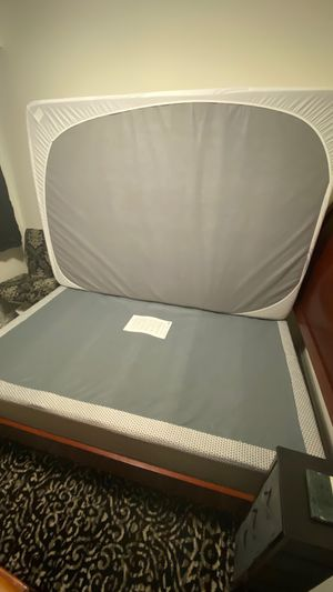Full size Bed Set — Mattress, Box Spring & Frame for Sale in Laurel, DE