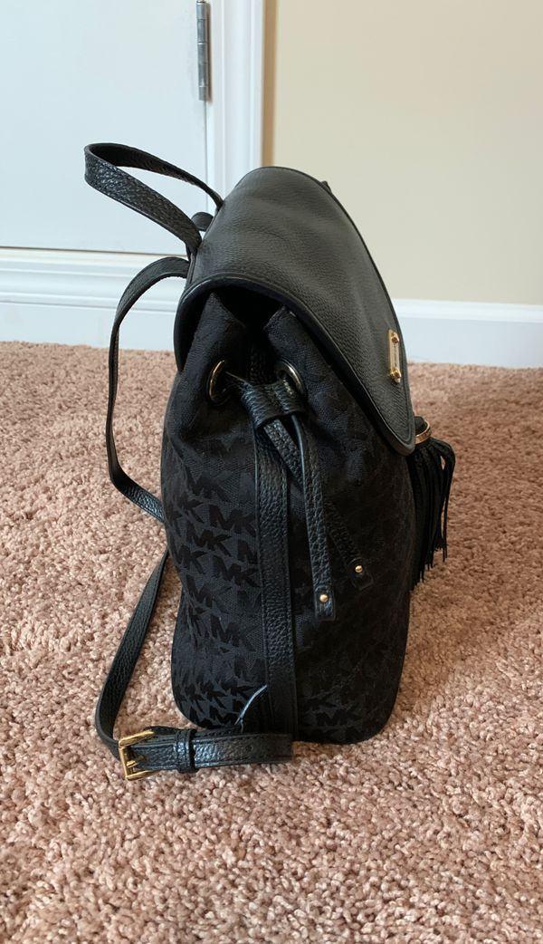 Micheal Kors leather backpack